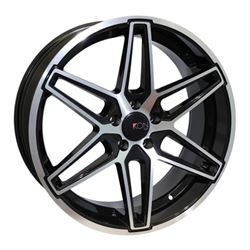 20x8.5 5x112 IKS24-I +35 (66.6) BMF sell with IKS24-J (rears) (Ball Seat)