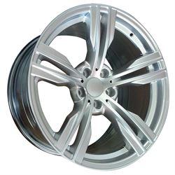 19x9.0 5x120 LEFR763-A +37 (74.1) (FR763) Hyper Silver (Cone Seat)